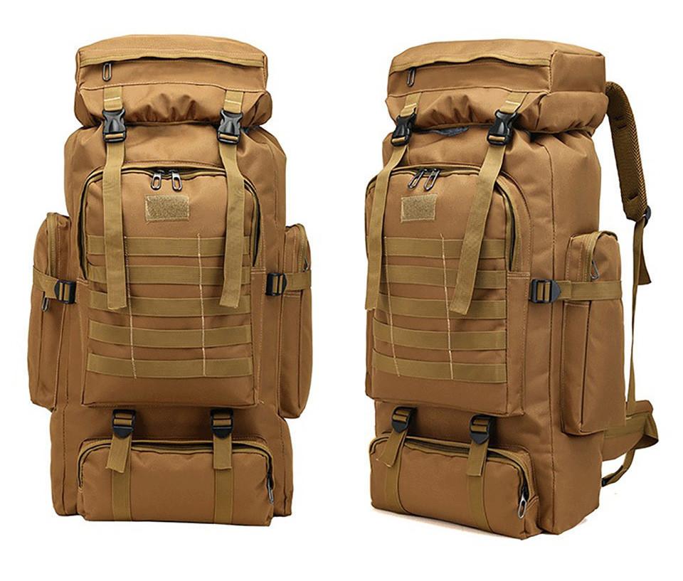 Тактический (туристический) рюкзак на 70 литров Coyote