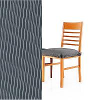 Чехлы на стулья Испания, Sandra Grey (упаковка 6 шт. сидушки) Серый