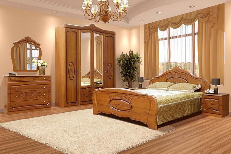 Спальня Катрин  (патина) 4Д