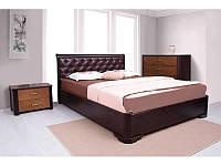 Кровать Милена с мягкой спинкой (Ассоль)