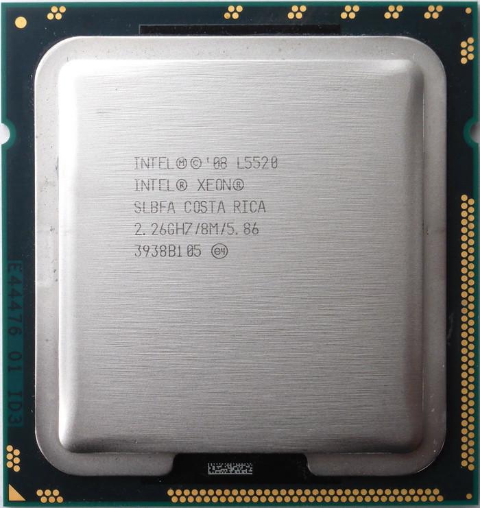 Процессор Intel Xeon E5520/L5520 /4(8)/ 2.26-2.53GHz + термопаста 0,5г