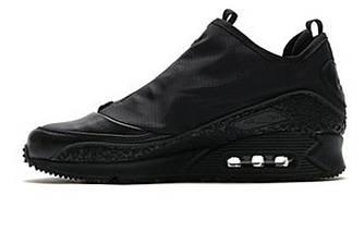 Мужские кроссовки Nike Air Max 90 Utility Triple Black (Реплика ААА+)
