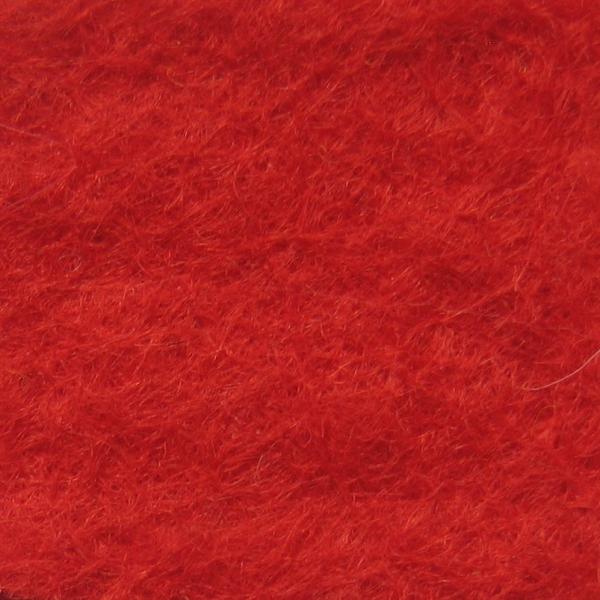 Фетр натуральный 1.3 мм, 20x30 см, КРАСНЫЙ