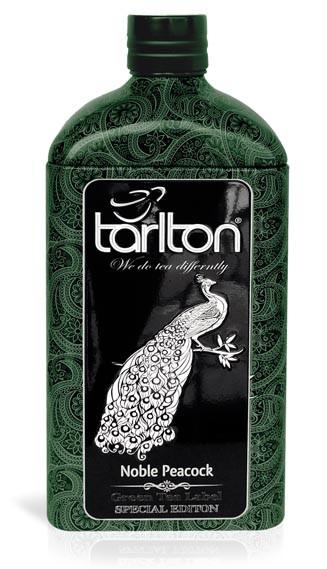 Чай зеленый среднелистовой Тарлтон Noble Peacock 150 г в жестяной банке