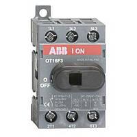 Рубильник ABB OT16F3 16A 1-0