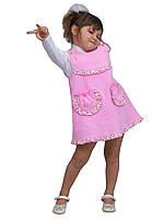 """Сарафан детский для девочки вельвет х/б М -1075 рост 104 110 116 и 122 тм """"Попелюшка"""", фото 1"""