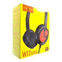Наушники MP3 Hoco W17 black