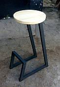 Заказ от двух штук. Барные стулья в стиле лофт. На металлической основе. Барный  табурет. Стул для кофейни.