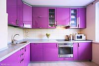 Кухня крашенный мдф Purple