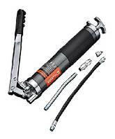 Плунжерный шприц для смазки 500 мл PRO металлический жесткий+гибкий концевик Harden Tools 670101