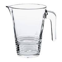 VÄNLIG  Кувшин, прозрачное стекло