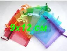 Мешочки 9х12 см из органзы, ткани, мешковины