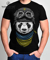 Футболка мужская Панда Воин,Valimark (Валимарк)