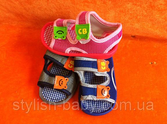 Детские пинетки-босоножки ТМ. Bluerama  (пищят) (16-20), фото 2