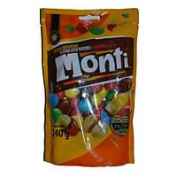 Драже орешки в шоколаде Monti, Польша 240г