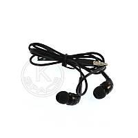 Наушники MP3 Universal Q6 black (с микрофоном)