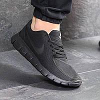 Кроссовки мужские демисезонные Nike Free Run 5.0 7677 черные, фото 1