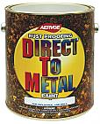 Эмаль по металлу Direct To Metal (США) 3,78л ЧЕРНАЯ МАТОВАЯ