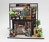 """3D Румбокс """"Кав'ярня"""" - Ляльковий Дім Конструктор / DIY Coffee Doll House від CuteBee, фото 2"""