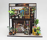 """3D Румбокс """"Кофейня"""" - Кукольный Дом Конструктор / DIY Coffee Doll House от CuteBee, фото 2"""
