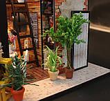 """3D Румбокс """"Кофейня"""" - Кукольный Дом Конструктор / DIY Coffee Doll House от CuteBee, фото 7"""