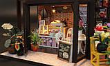 """3D Румбокс """"Кофейня"""" - Кукольный Дом Конструктор / DIY Coffee Doll House от CuteBee, фото 10"""