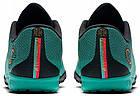 Сороконожки Nike Mercurial VaporX 12 Academy Ronaldo TF (AJ3732-390) - Оригинал, фото 7