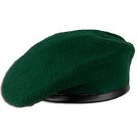 Берет армейский  шерстяной  зеленый  Германия 60