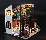 """3D Румбокс """"Кофейня"""" - Кукольный Дом Конструктор / DIY Coffee Doll House от CuteBee, фото 4"""