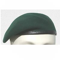 Берет армейский  шерстяной  зеленый  Германия