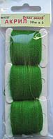 Акрил для вышивки: кленовый зелёный, фото 1