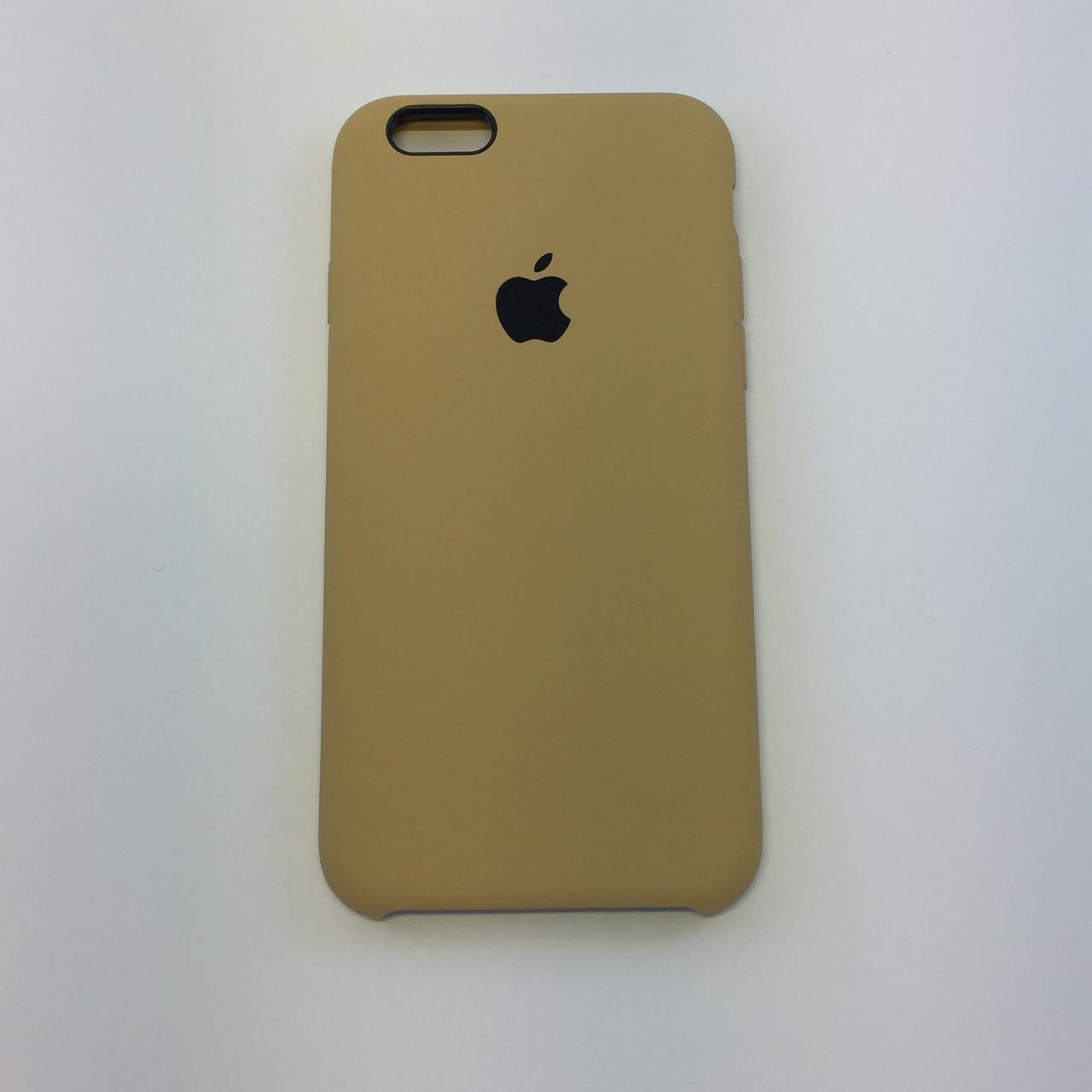 Силиконовый чехол для iPhone 7, - «gold» - copy original