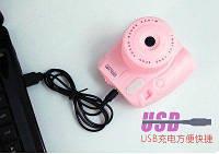 Мини вентилятор Фотоаппарат GL229 (Pink)