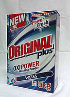 """Cтиральный порошок """"Original Plus"""" 5 кг (для белых вещей)"""