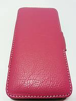 Чехол Evropa книжка для Fly IQ4405 Evo Chic розовый