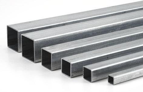 Труба 10х10х0,8 сварная стальная квадратная