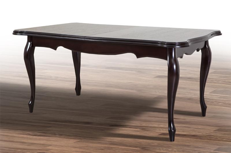 Обідній стіл Роял (Венге шоколад / Темний горіх)