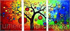 Картины раскраски триптихи по номерам. Денежное дерево Babylon  (DZ3011)