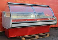 Холодильная витрина колбасная «Технохолод Джорджия» 2 м. (Украина), широкая выкладка 86 см, Б/у, фото 1