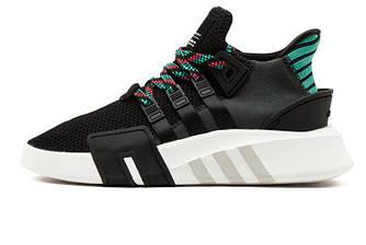Мужские кроссовки Adidas EQT BASK ADV Black Multi (Реплика ААА+)