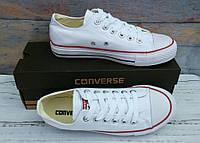 Converse all star white low кеды белые низкие кеди білі низькі 36-44