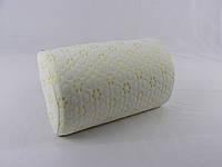 Ортопедическая подушка(валик) VIVA «Memorу Roll1/2», 350*200*110мм, латекс, чехол трикотажный, фото 1