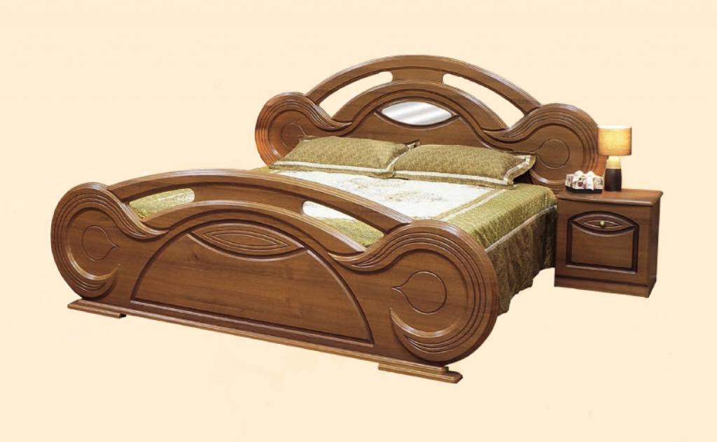Кровать 2-сп.  Тина (патина)