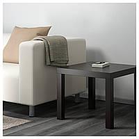 LACK придиванный столик (черно-коричневый)