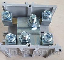Клеммная колодка (клеммник) SV 95 1x95+4x35 латунь