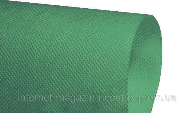 Студийный полипропиленовый фон F&V 1,6х5 м (темно-зеленый) без тубуса