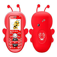 Мобильный телефон пчёлка, силиконовый чехол снимается, фото 1