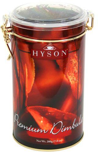 Чай чорний крупнолистовий Hyson Premium Дімбула 200 г