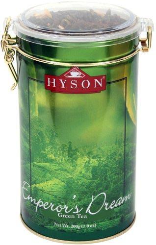 Чай зеленый среднелистовой Hyson Emperor's Dream с лепестками роз и календулы 200 г