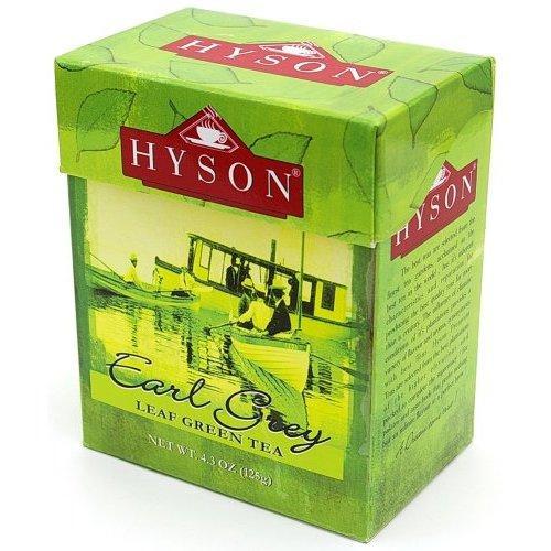 Чай зеленый среднелистовой Hyson Earl Grey Green Tea с бергамотом 125 г